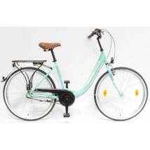 Schwinncsepel BUDAPEST B 26/18 N3 19 női City Kerékpár türkiz