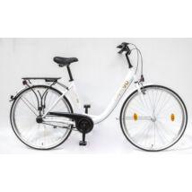 Schwinncsepel BUDAPEST B 28/19 N3 90 LIMITÁLT női City Kerékpár fehér