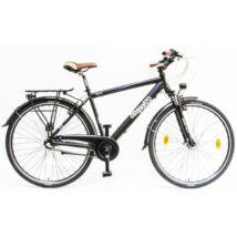 Schwinncsepel SIGNO FFI 28/19 N3 19 AGYD nérfi City Kerékpár fekete
