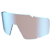 Scott Shield napszemüveghez pótlencse kék króm fényes