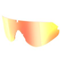 Scott Shield Sport napszemüveghez pótlencse piros króm