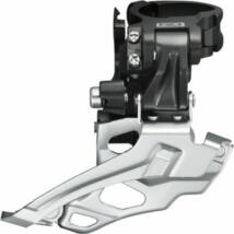Shimano Váltó Első 34,9 Ah-fh Deore Fdm616 Adapterrel 28.6+31,8 Fekete