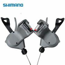 Shimano Váltókar Bal Oldali Tiagra Sl4600 Egyenes Kormányhoz 2-es Rapidfire Plus 1800mm