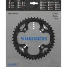 Shimano Lánckerék 44F Fcm530 590 44F Fekete Láncvédő Furattal