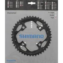 Shimano Lánckerék 44F Fct671 44F-Ae Fekete Láncvédő Furattal