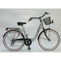 Sirius City Life Lady 26'' Ezüst női City Kerékpár