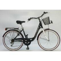Sirius City Life Lady 26'' Fekete/Fehér női City Kerékpár