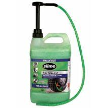 SLIME Defektgátló folyadék tubeless 3,8 l pumpás adagolóval.