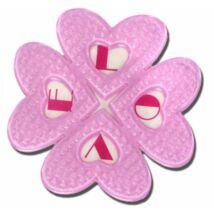 Elfgen Snowboard Kilépő Love Pad Pink