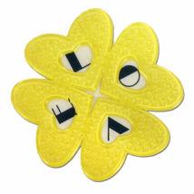 Elfgen Snowboard Kilépő Love Pad Yellow