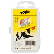 Toko Express 2.0 Rub-on Universal Ski & Snowboard Wax Kit