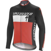 Specialized Therminal RBX comp logo jersey ls blk/wht/red