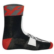 Specialized Zokni Winter socks Pro racing blk/grey/red