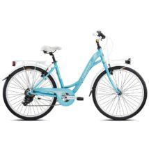 """Torpado T461 Freedom 2019 - Shimano Tx35 7v Revo Rs35 26"""" Női City Kerékpár"""