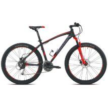 Torpado T770 27,5 Saturn 38 Matt Finish Fekete/Piros Shimano Alivio 8x3(2016) Férfi Mountain Bike