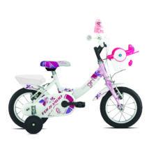 """Torpado Kerékpár T691 Titty MTB 12"""" 1seb. fehér/pink(9T) gyerek kerékpár"""