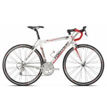 Torpado T1000(T340) Destriero 48 fehér/piros SHIMANO 2X9V(16) Országúti Kerékpár