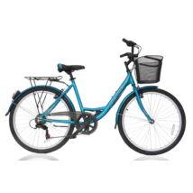 """Ultra Riviera 7seb 26"""" női City Kerékpár türkiz"""