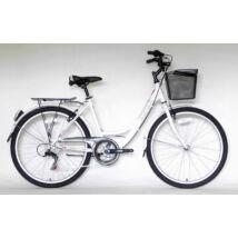 """Ultra Tonus 7seb 26"""" női City Kerékpár fehér"""