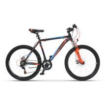 "Ultra Agressor 26"" férfi Mountain Bike fekete-narancs"