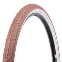 Vee Rubber thaiföldi gumiabroncs kerékpárhoz 37-622 28x1,40 VRB 292 EASY, drótperemes, refl., 1,5 mm defektvéd. réteggel, barna