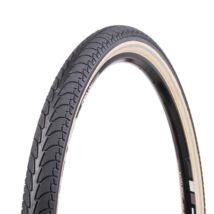 Vee Rubber thaiföldi gumiabroncs kerékpárhoz 47-559 26X1,75 VRB 292 EASY, drótperemes, refl., 3,5 mm defektvéd. réteggel, fekete/fehér