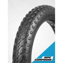 Vee Rubber thaiföldi gumiabroncs kerékpárhoz 102-559 26x4,00 VRB 321 MISSION COMMAND Multiple Purpose Compound fekete, drótos (B32114)