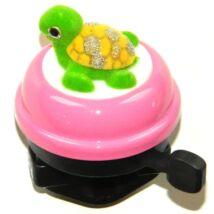 Velotech Csengő gömb rózsaszín teknősös