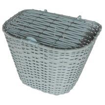 Velotech Kosár első műanyag szürke