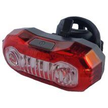 Velotech Lámpa hátsó 3+2x0,5W