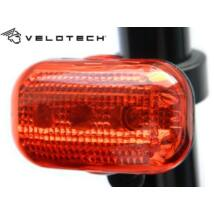 Velotech Villogó hátsó 3 LED