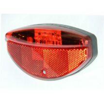 Velotech lámpa hátsó 3 LED dinamós