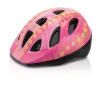 XLC Fejvédő gyermek XS/S 49-54 cm hts. vill.LED pink Princess BH-C16