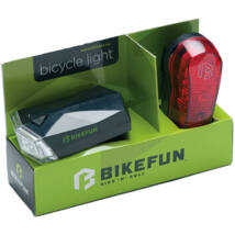 Bikefun Lámpa Square Szett E-h 4-3 Led
