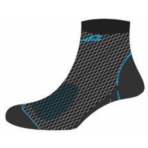 XLC Zokni Merino fekete-kék CS-L01