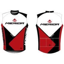 Merida Mez 2014 rövid 41 ujjatlan piros-fehér-fekete végig zipzár Team replica