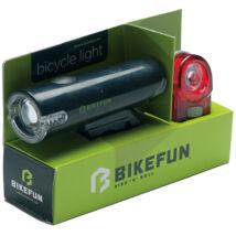 BikeFun Lámpa TWIN szett E-H 1-2 LED