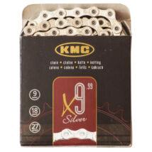 KMC X9 ezüst