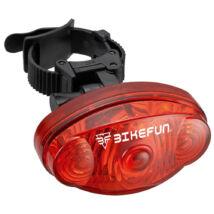 BikeFun Lámpa BASELIGHT hátsó villogó