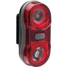 BikeFun Lámpa TWIN hátsó 2 piros LED, 3