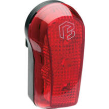 BikeFun Lámpa SQUARE 3 hátsó, 3 piros LED, 2 funkció