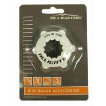 Alligator Center Lock Adapter Fehér Záró Gyűrűvel