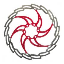 Xlc Féktárcsa 203 Mm Ezüst-piros Br-x02
