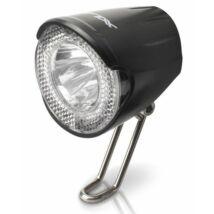 XLC Lámpa agydinamós első, LED, 20 LUX, szenzoros, kapcsolóval és ál