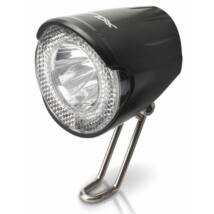 Xlc Lámpa Agydinamós Első, Led, 20 Lux, Szenzoros, Kapcsolóval És Állófénnyel