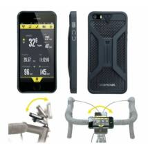 Topeak RideCase, with RideCase Mount, for iPhone 5-5S, Black