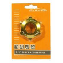 Alligator Center Lock Adapter Arany Zárógyűrűvel