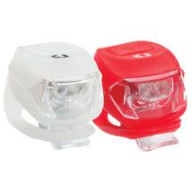 Bikefun Lámpa Pixie Szett E-h 2-2 Led, Fehér-piros