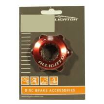 Alligator Center Lock Adapter Piros Záró Gyűrűvel