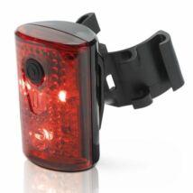 XLC Lámpa Pan hátsó akkus USB töltős CL-R14
